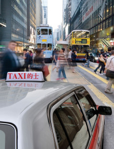 Holy People in a Taxi